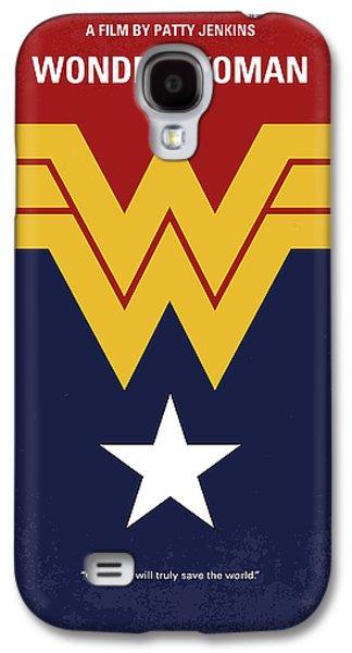 No825 My Wonder Woman Minimal Movie Poster Galaxy S4 Case