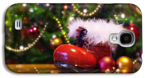 Santa-claus Boot Galaxy S4 Case