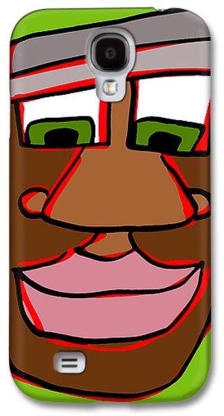 Shaun In Color Galaxy S4 Case by Jera Sky