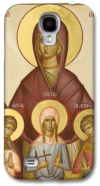 Sts Sophia Faith Hope And Love Galaxy S4 Case by Julia Bridget Hayes
