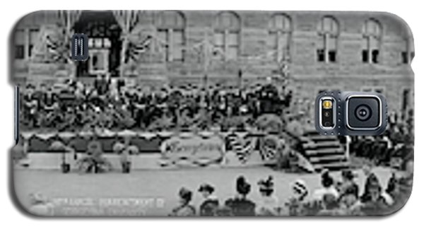 Commencement Georgetown University Galaxy S5 Case by Fred Schutz Collection