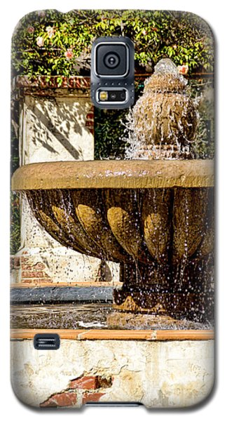 Fountain Of Beauty Galaxy S5 Case by Peggy Hughes