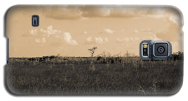 Galaxy S5 Case featuring the photograph Lone Cypress by Gary Dean Mercer Clark