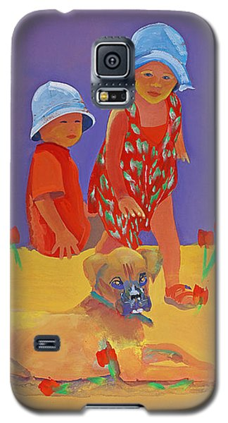 The Boxer Puppy Galaxy S5 Case