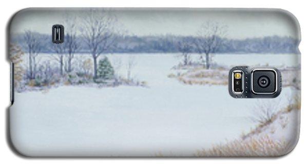 Winter Lake And Cedars Galaxy S5 Case