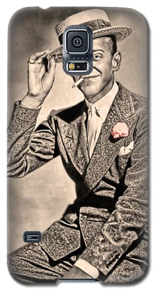 Galaxy S5 Case featuring the painting Young Mr.astaire by Tyler Robbins