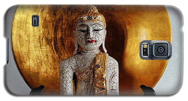 Galaxy S5 Case featuring the photograph Buddha Girl by Gary Dean Mercer Clark