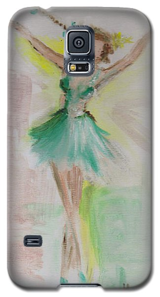 Galaxy S5 Case featuring the painting Dance by Laurie L