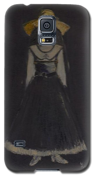Galaxy S5 Case featuring the painting Just A Beautiful Country Girl... by Laurie L