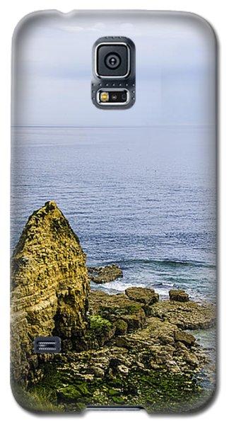 Galaxy S5 Case featuring the photograph Pointe Du Hoc by Marta Cavazos-Hernandez