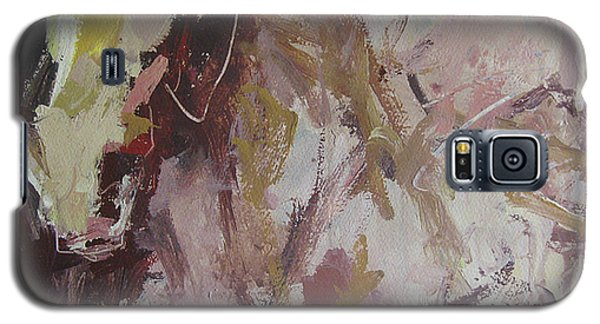 Galaxy S5 Case featuring the painting Abstract Horse  by Robert Joyner