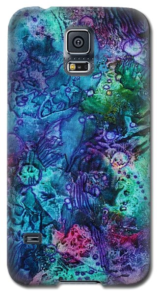 Galaxy S5 Case featuring the painting Bikini Bottom by Pat Purdy