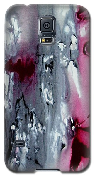 Galaxy S5 Case featuring the painting Where My Heart Is by Pat Purdy
