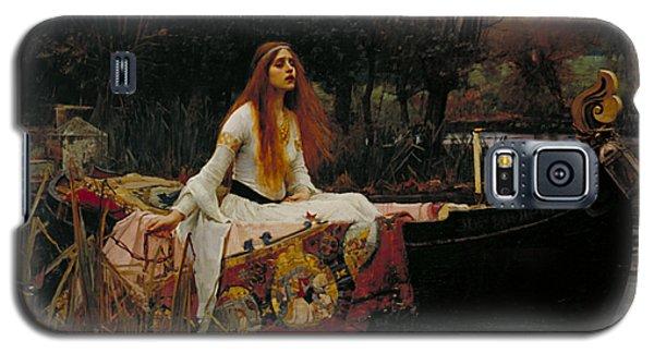 The Lady Of Shalott Galaxy S5 Case by John William Waterhouse