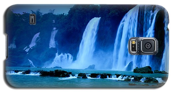 Waterfall Galaxy S5 Case by MotHaiBaPhoto Prints