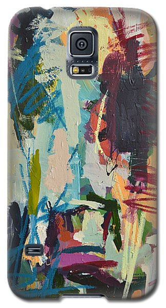 Modern Abstract Cow Painting Galaxy S5 Case