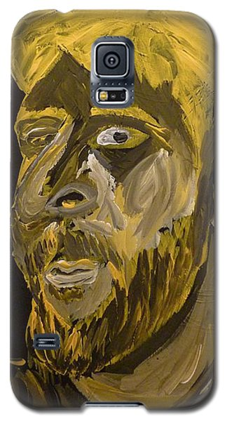 Galaxy S5 Case featuring the painting Self Portrait by Joshua Redman