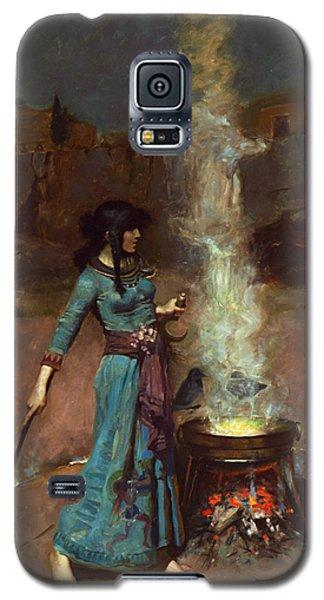 The Magic Circle Galaxy S5 Case by John William Waterhouse