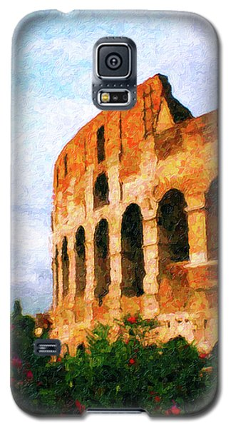 Afternoon In Rome Galaxy S5 Case by Rob Tullis