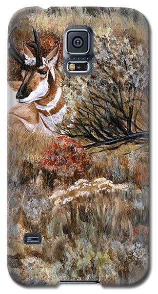 Galaxy S5 Case featuring the painting Autumn Splendor by Sheri Gordon