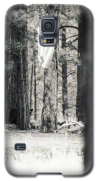 Galaxy S5 Case featuring the photograph Black Bear Pledge  by Juls Adams