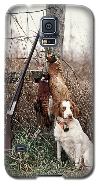 Brittany And Pheasants - Fs000757b Galaxy S5 Case