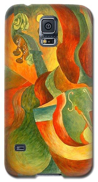 Broken Fiddle Study Galaxy S5 Case