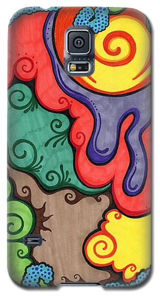 Caribbean Colors Galaxy S5 Case