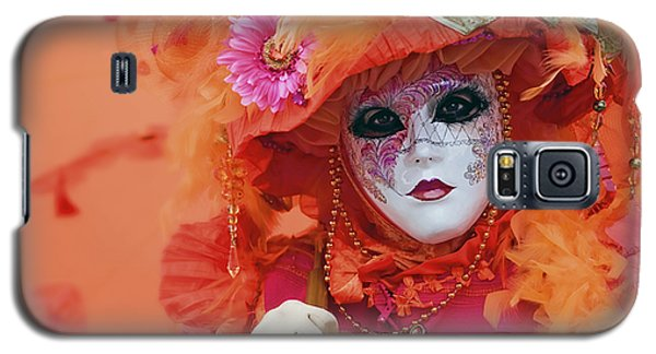 Carnival In Orange Galaxy S5 Case