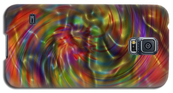 Galaxy S5 Case featuring the painting Electric Fudge by Kevin Caudill