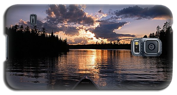 Evening Paddle On Spoon Lake Galaxy S5 Case
