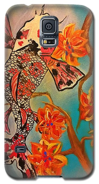 Focus Flower  Galaxy S5 Case by Miriam Moran