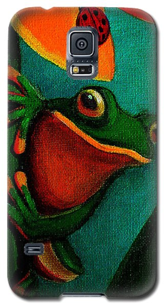 Frog And Ladybug Galaxy S5 Case