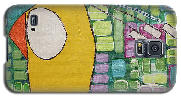 Galaxy S5 Case featuring the painting Heading West by Donna Howard