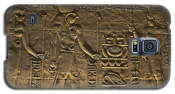 Hieroglyph At Edfu Galaxy S5 Case by Darcy Michaelchuk