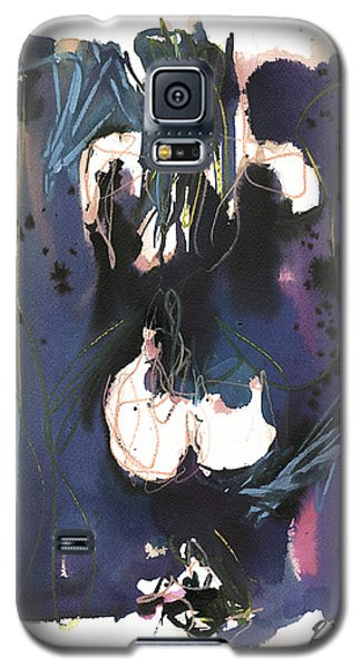 Galaxy S5 Case featuring the painting Kneeling by Robert Joyner