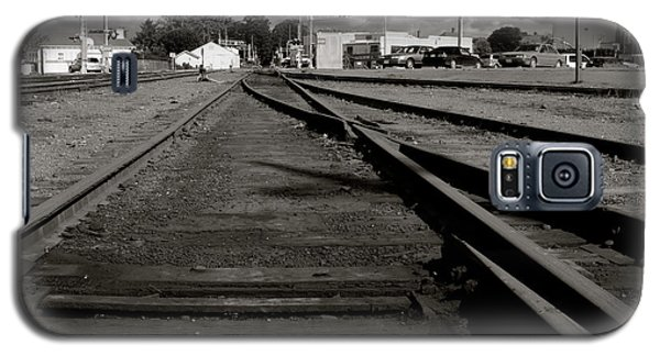 Last Train Track Out Galaxy S5 Case