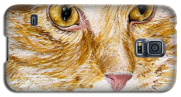 Leo Galaxy S5 Case by Mary-Lee Sanders