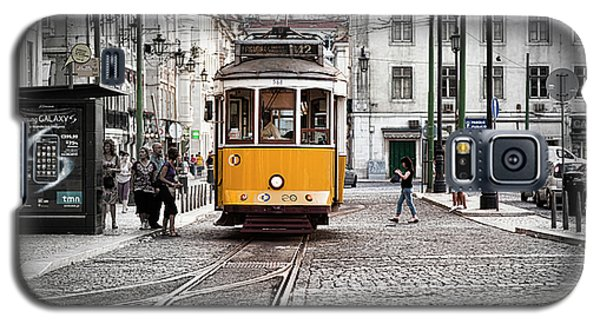Lisboa Tram II Galaxy S5 Case