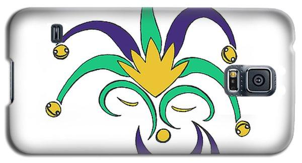 Mardi Gras Jester Galaxy S5 Case