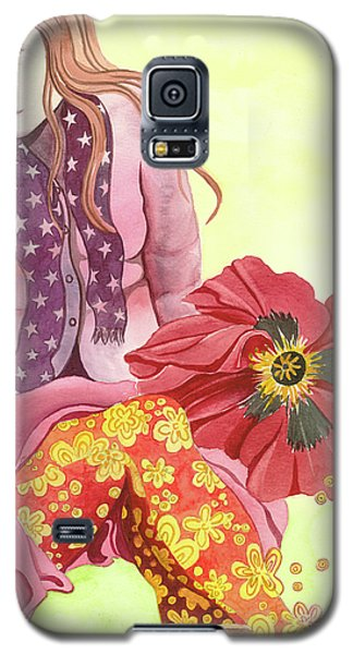 Galaxy S5 Case featuring the painting Margaret's Magic Stockings by Sheri Howe