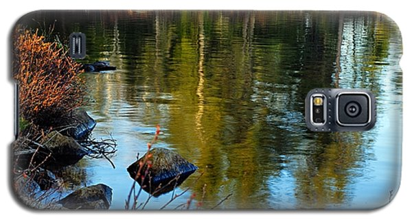 Morning Reflections On Chad Lake Galaxy S5 Case