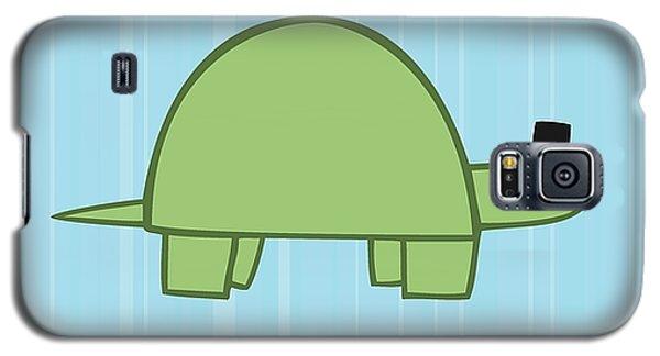 Nursery Art Boy Turtle Galaxy S5 Case by Christy Beckwith
