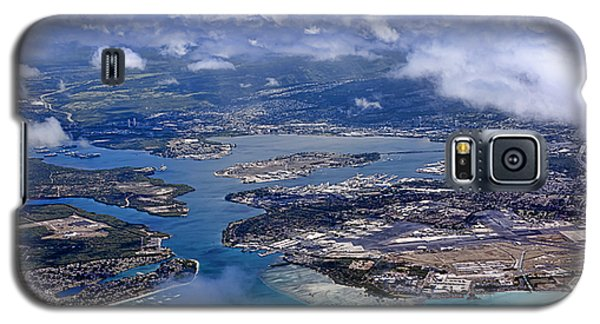 Pearl Harbor Aerial View Galaxy S5 Case
