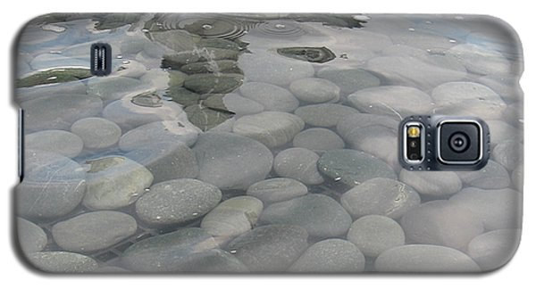Galaxy S5 Case featuring the photograph Pebbles by Nancy Dole McGuigan