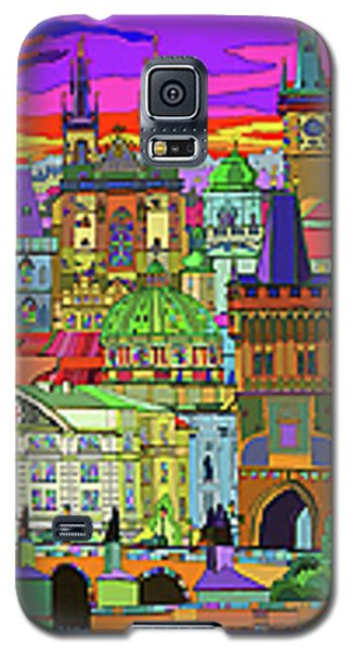 Prague Panorama Old Town Galaxy S5 Case