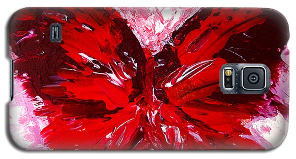 Red Butterfly Galaxy S5 Case