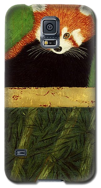 Red Panda And Bamboo Galaxy S5 Case