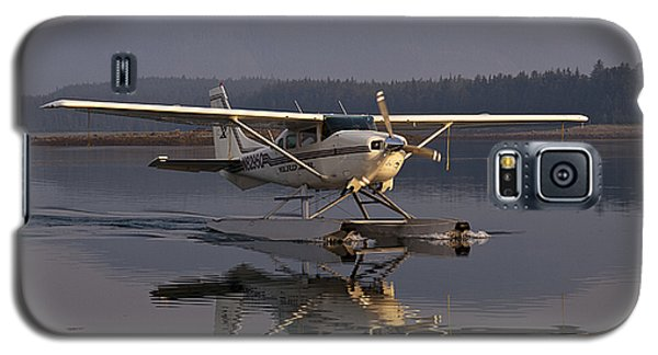 Reflections Of A Float Plane Galaxy S5 Case by Darcy Michaelchuk