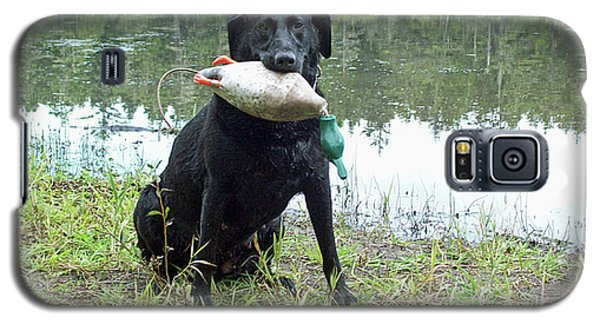 Retrieve Training At Island Lake Galaxy S5 Case by Pamela Patch